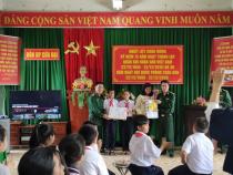 Trường THCS Kim Đồng phối hợp tổ chức chuyến thăm giao lưu với đồn Biên phòng Cửa Đại thành phố Hội An.