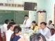 Đoàn kiểm tra liên bộ làm việc với nhà trường về công tác Y tế học đường, tuyên truyền phòng chống hút thuốc lá và HIV